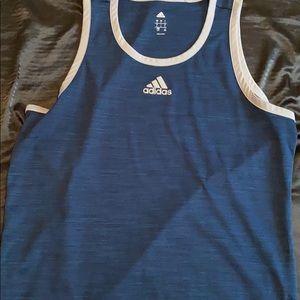 muscle tee: Adidas